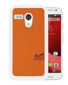 Hermes White Motorola Moto G Screen Phone Case Attractive and Fashion Design