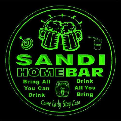 4 x ccq39210-g SANDI cartel de forma de diseño de club de billar ...