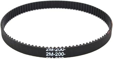 200 mm cerrado correa dentada GT2 100 dientes: Amazon.es: Informática