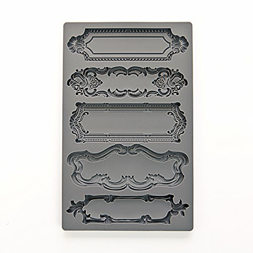 VINTAGE ART DECOR Mold Moulds for Crafters Clay Paper Crafti