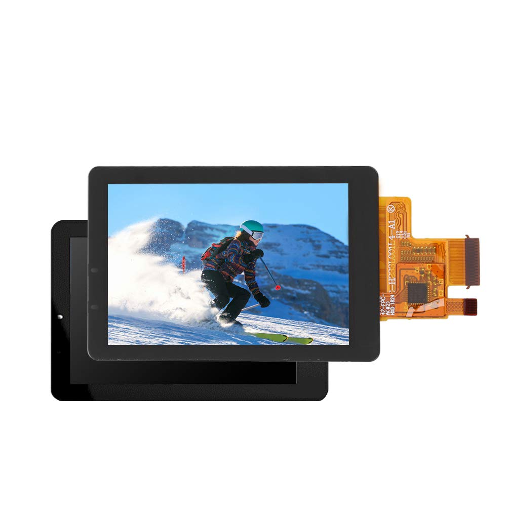 Serounder LCD Display Screen Replacement,Portable 2.0in HD Digital Sports Camera Replacement Part Photography Accessory for SJCAM SJ8 Pro Action Camera by Serounder