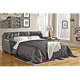 Ashley Furniture Signature Design - Alliston Sleeper Sofa - Queen Size - Upholstery - Contemporary - Gray