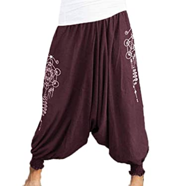 Babao Anchos Pantalon De Yoga Pantalones De Harén: Amazon.es ...