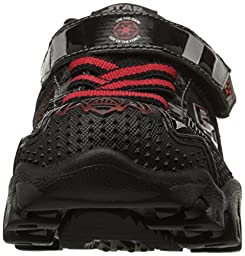 Skechers Kids Star Wars Damager III Hypernova Light-Up Sneaker (Toddler/Little Kid), Black/Red, 2.5 M US Little Kid