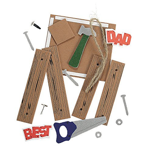 """""""Dad"""" Tool Picture Frame Ornament Craft Kit"""
