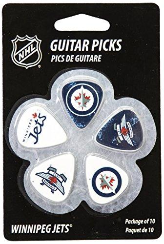 - Woodrow Guitar by The Sports Vault NHL Winnipeg Jets Guitar Picks, 10 Pack