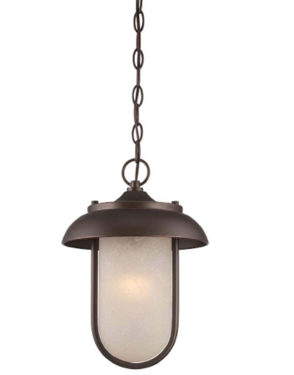 Lighting 62/675 Tulsa LED 10 inch Mahogany Bronze Outdoor Hanging Light Outdoor Led Inch Hanging Light 9 10 635 Bethany 685 645 Diego CHOOSEandBUY