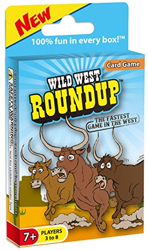 Wild West Roundup Card Game, The Fastest Game in the West Christmas Present Ideas 13 Year Old Boy