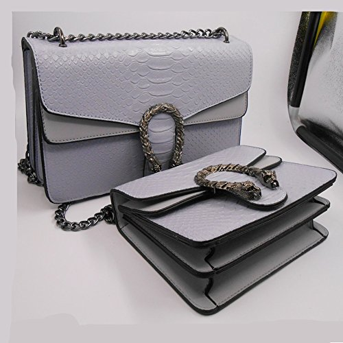 Ladies Black Gray Bag Handbag Small Bag Chain Korean L Square Dark Messenger L Shoulder Version Windwelle Mini SxfEZpq