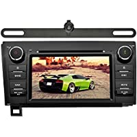 YINUO In Dash Android 7.1.1 Double Din 7 Inch Capacitive Touch Screen Car Stereo DVD Player GPS Navigation with Bluetooth for Toyota Tundra/Sequoia,7 Color Button illumination,with Backup Camera