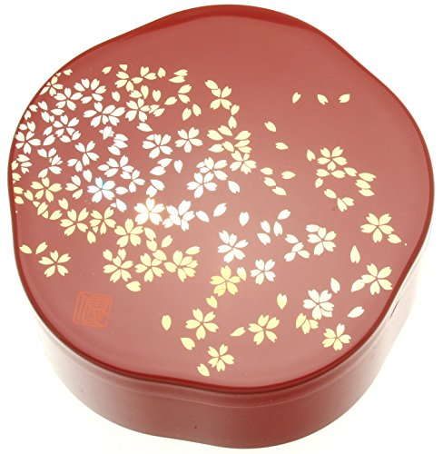 Kotobuki Japanese Lacquer Box, Red, ()