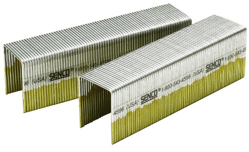 Senco P21BAB 16 Gauge by 1-inch Crown by 2-inch Length Electro Galvanized Staples (5,000 per box)