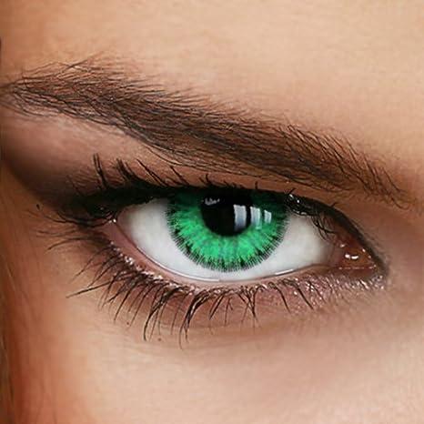 13ffcc4cbfb9a5 Lentilles de Contact de Couleur - Vert  EVER GREEN  - de LUXDELUX ...