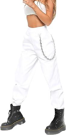 Pantalones Harem Primavera Verano Mujer Fashion Estilo Moderno Casual Hip Hop P Amazon Es Ropa Y Accesorios