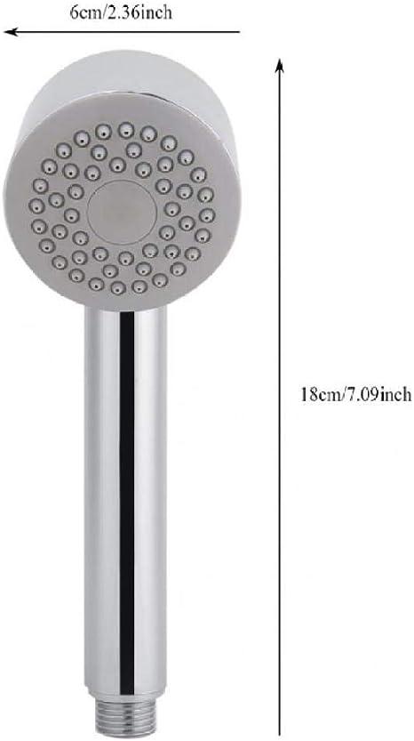 KangHS Alcachofa, Cabezal de ducha de mano Spray de alta presión Baño Spa Cabezal de ducha Ducha y base: Amazon.es: Bricolaje y herramientas