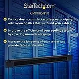 StarTech.com 1U Brush Strip Horizontal Server Rack