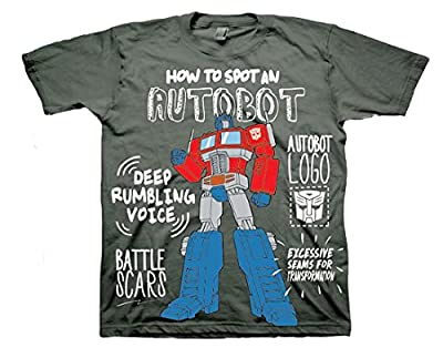 Transformers How to Spot an Autobot Little Boys Toddler T Shirt