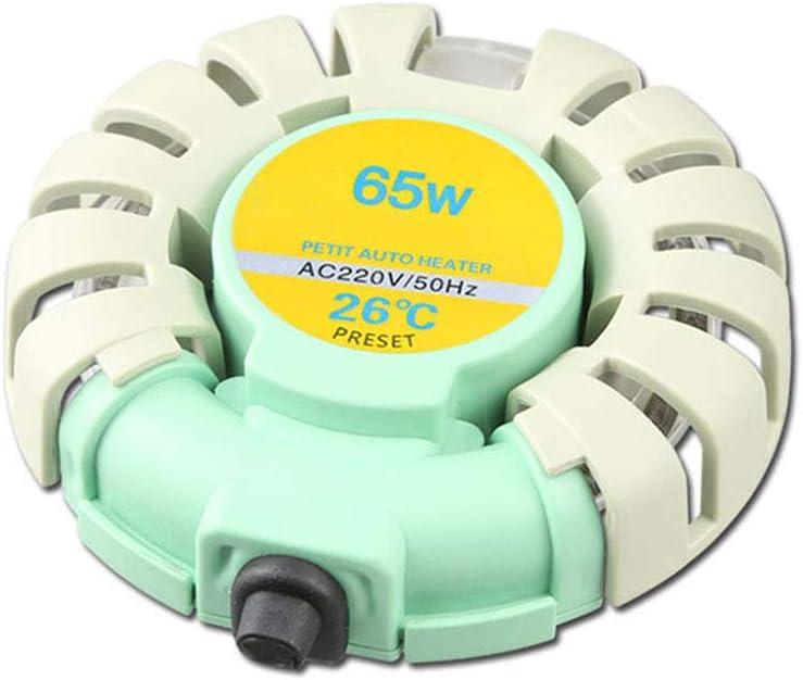 S-AIM Calentador Sumergible Pequeño De 65 Vatios para Acuario, Mini Calentadores De Tortuga, Termostato Automático Plug-and-Play De 26 ℃, para Tanque De Peces De 30 L