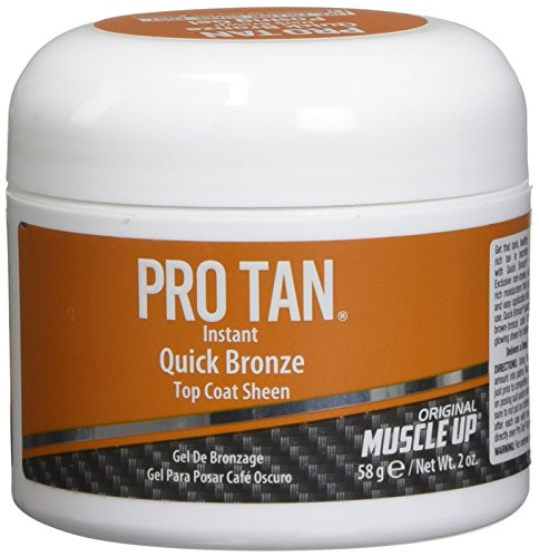 Pro Tan Instant Quick Bronze Top Coat Sheen Dark Brown Posing Gel
