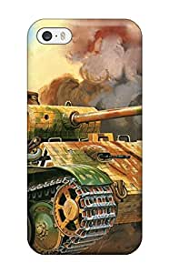 Fashion FmDeAAF2459pkuaK Case Cover For Iphone 5/5s(tank Military Man Made Military)