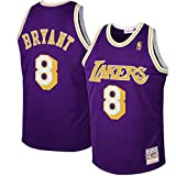 Outdoor stuff Men's Lakers #8 Bryant Purple 1997 Hardwood Classics Road Jersey