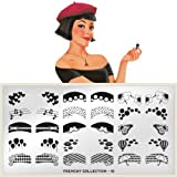 MoYou-London Nail Art Image Plate Frenchy Collection - 10