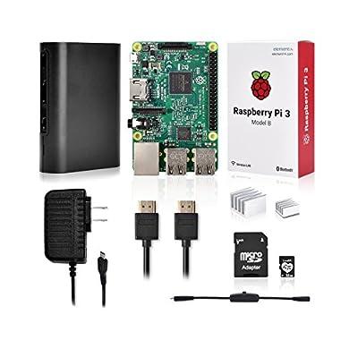 LoveRPi Raspberry Pi 3 Complete Media Center Kit - 32GB Model