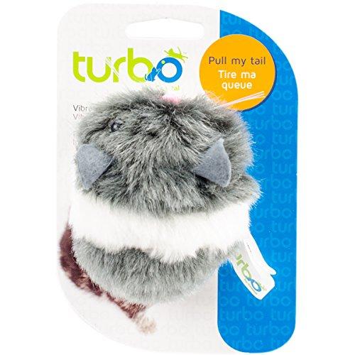 Turbo Vibrating Cat Toy-mouse - 3.5