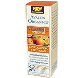 Avalon - Avalon Organics Revitalizing Eye Cream Vitamin C - 1 Fl Oz - Pack Of 1