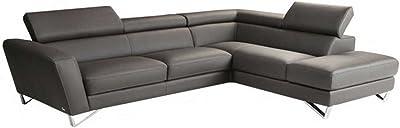Amazon Com Baxton Studio Callidora Brown Leather