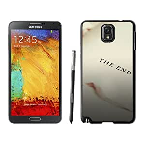 NEW Unique Custom Designed For Case Samsung Note 4 Cover Phone Case With Simple Book End_Black Phone Case