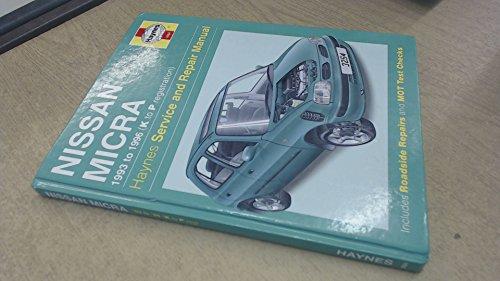 - Nissan Micra (93-96) Service and Repair Manual (Haynes Service and Repair Manuals)