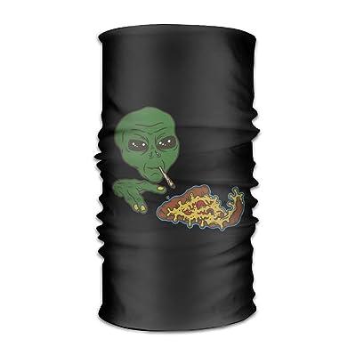 Egg Egg Unisex Aliens Eat Pizza Multifunctional Bandanas Sweatband Elastic Turban Headwear Headscarf Beanie Kerchief