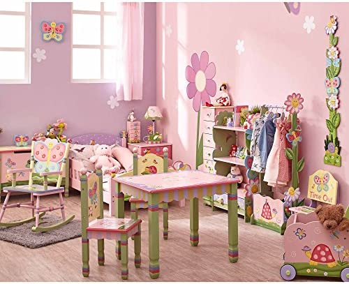 Fantasy Fields by Teamson TD-12245AR Magic Garden Toy Organiser, Pink