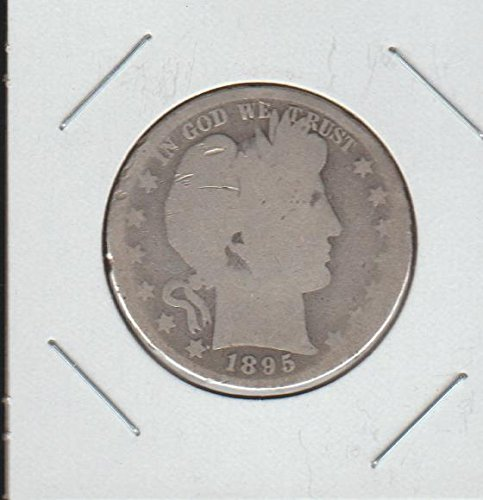 1895 Barber or Liberty Head (1892-1915) Half Dollar About Good