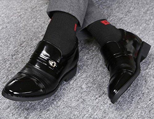 Scarpe da Uomo Altezza Affari Black3cm WLFHM Scarpe Interna Coreano da Primavera Vestiti Sposa aqYxPwv1