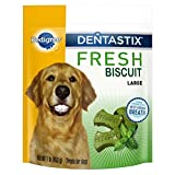 Pedigree Dentastix Fresh Biscuit Large Treats For Dogs, 1 Pound (Pack Of 4), Reduces Plaque And Tartar Buildup Review