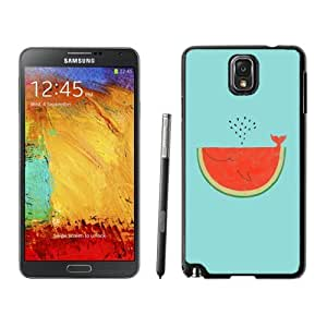Personalized Phone Case Watermelon Whale Flat Illustration Galaxy Note 3 Wallpaper