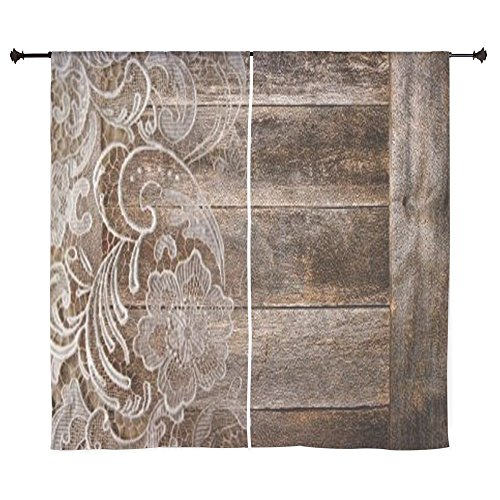 CafePress - Barn Wood Lace Western Country