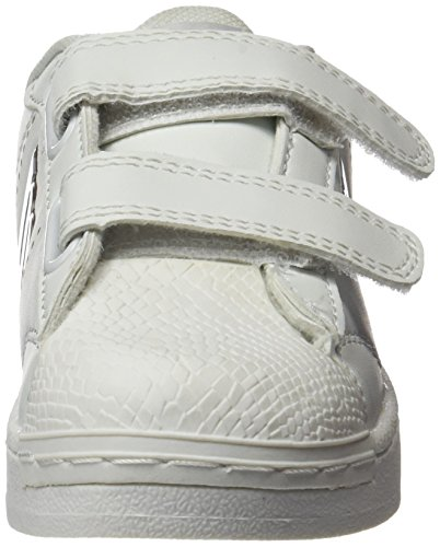 MTNG agon, Zapatillas infantil, Blanco (Action PU Blanco/Fantasy Plata), 30 EU