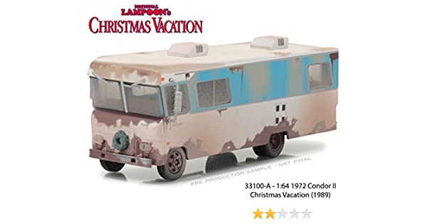 amazoncom new 164 greenlight collection h d trucks beige 1972 condor ii rv from national lampoon christmas vacation movie diecast model car by - Christmas Vacation 2 Trailer