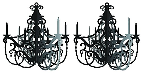Party in Paris Hanging Chandelier - 2 Pack -