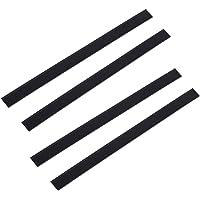 Bayda 4 x rubberen wisserbladen voor raamzuiger Kärcher WV50 WV2 280 mm vervangende reinigingsaccessoires