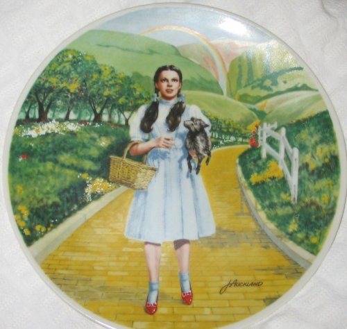 Wizard of Oz Plate Over the Rainbow