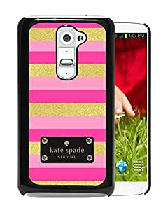 Newest Kate Spade LG G2 Case ,Popular And Unique Designed Kate Spade Cover Case For LG G2 Black Phone Case 143