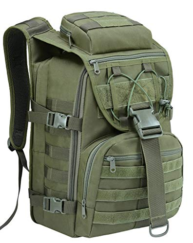 T1FE 1SFE Military Tactical Backpack, Army 3 Day Assault Pack Molle Bug Out Bag