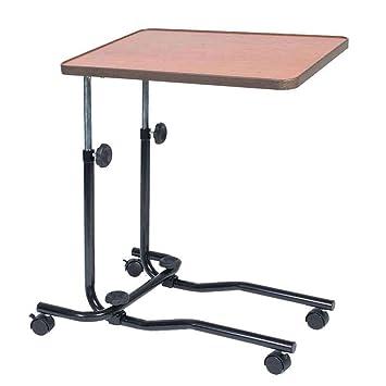 NRS - Mesa portátil con ruedas para cama: Amazon.es: Salud y cuidado personal