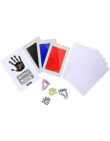 62b06e66f PChero Hand Touch Baby Handprint Footprint Kit de Almohadilla de Tinta  Perfecto para Regalo de Bebé
