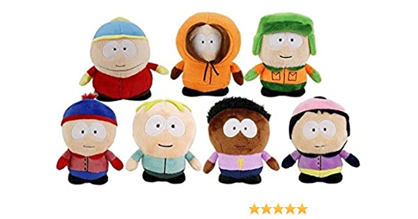 Amazon.com: SOUTH PARK - Set of 7 Plush toys of the TV Show