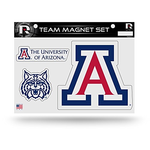 Rico Industries NCAA Arizona Wildcats Die Cut Team Magnet Set Sheet (Arizona Wildcats Set)